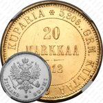 20 марок 1912, L