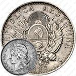 1 песо 1882 [Аргентина]