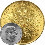 100 крон 1915