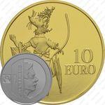 10 евро 2016, мышь Кетти