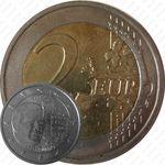 2 евро 2008, замок Берг
