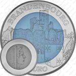 5 евро 2015, замок Бранденбург
