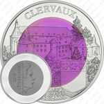 5 евро 2016, замок Клерво