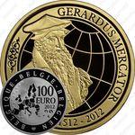 100 евро 2012, Герард Меркатор