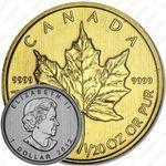 1 доллар 2012, кленовый лист