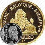 12,5 евро 2007, король Леопольд II