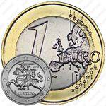 1 евро 2015