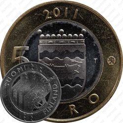 5 евро 2011, Уусимаа