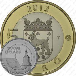5 евро 2013, церковь Святого Лаврентия