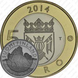 5 евро 2014, лиса