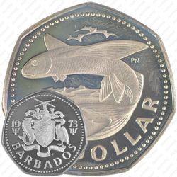 1 доллар 1973