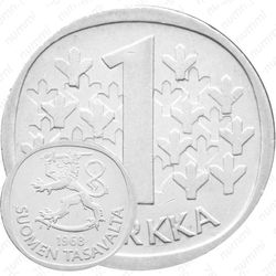 1 марка 1968, S