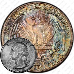 25 центов 1964