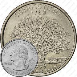 25 центов 1999, P