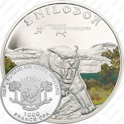 1000 франков 2011, Кот-д'Ивуар