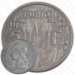 5 франков 1955