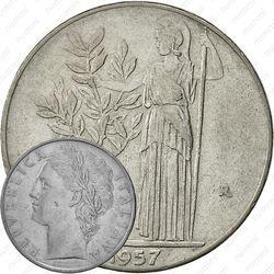 100лир 1957
