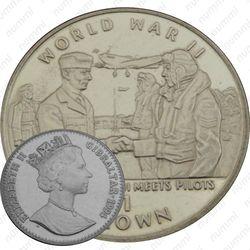 1 крона 1994, серебро