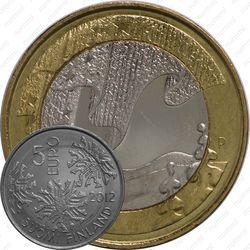 5 евро 2012, зима