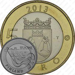 5 евро 2013, Карелия