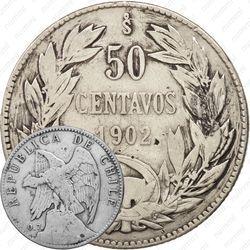 50 сентаво 1902