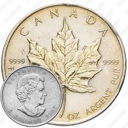 5 долларов 2007, Канада