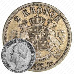 2кроны 1897
