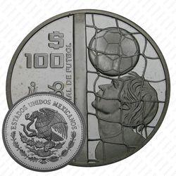 100 песо 1985, футболист