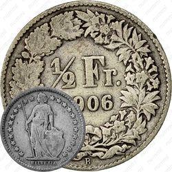 1/2 франка 1906 [Швейцария]