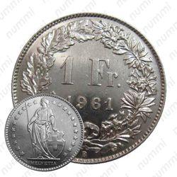 1 франк 1961 [Швейцария]