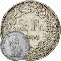 2 франка 1906 [Швейцария]