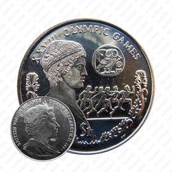 1 доллар 2004, XXVIII летние Олимпийские Игры, Афины 2004 - бегуны [Британские Виргинские острова]