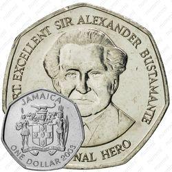 1 доллар 2006 [Ямайка]