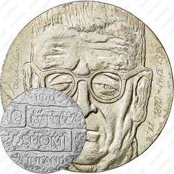 10 марок 1970, 100 лет со дня рождения президента Юхо Паасикиви [Финляндия]