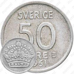 50 эре 1961 [Швеция]