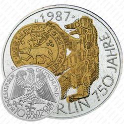 10 марок 1987, Берлин [Германия]