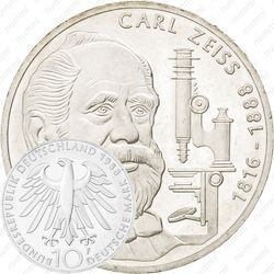 10 марок 1988, Карл Цейс [Германия]