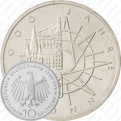 10 марок 1989, Бонн [Германия]