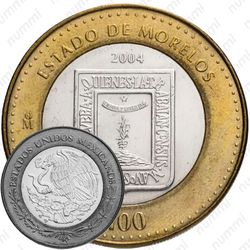 100 песо 2004, Морелос [Мексика]