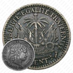 10сантимов 1887 [Гаити]