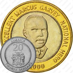 20 долларов 2000 [Ямайка]
