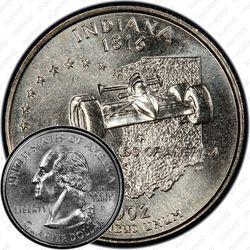 25 центов 2002, Индиана