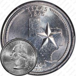 25 центов 2004, Техас