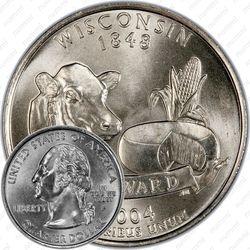25 центов 2004, Висконсин