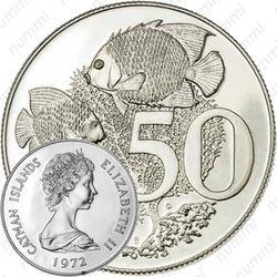 50 центов 1972 [Каймановы острова]