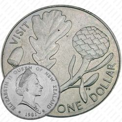 1 доллар 1981, Королевский визит [Австралия]