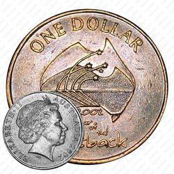 1 доллар 2002, Год отдаленных районов Австралии [Австралия]