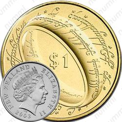 1 доллар 2003, Властелин Колец - Кольцо всевластия [Австралия]