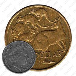 1 доллар 2008, кенгуру [Австралия]