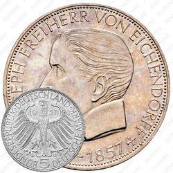 5 марок 1957, Эйхендорф [Германия]